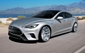 Tesla laat Model S met software-update gedeeltelijk zelf rijden