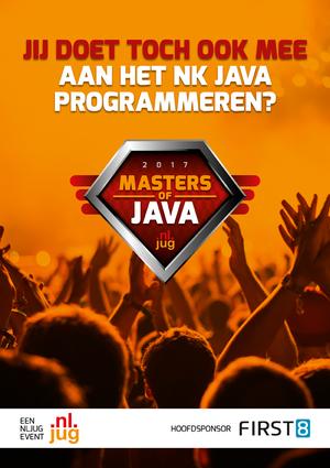 Masters of Java 2017: Uitslag, foto's en video!