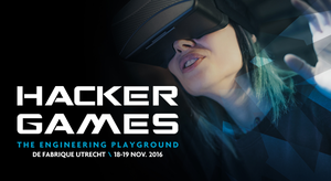 Join the Hacker Games: 18-19 november, de Fabrique Utrecht