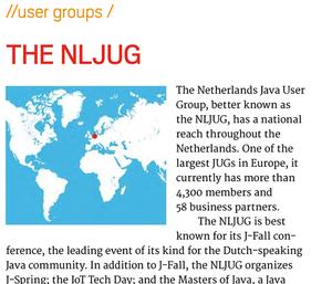 NLJUG in Oracle Java Magazine
