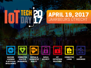 Sprekers en programma IoT Tech Day 2017 bekend!